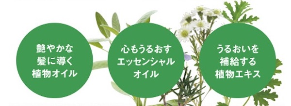 プレナスの植物由来成分